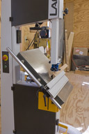The band saw is the perfect tool for cutting corner braces